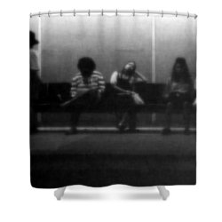 Images Of Waiting Shower Curtain