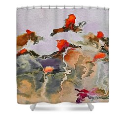 Imagine - F01v3bt2b Shower Curtain by Variance Collections