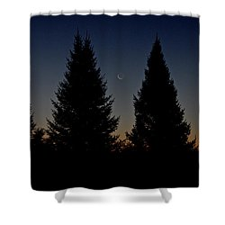 Shower Curtain featuring the photograph Impending Sunrise by Penny Meyers