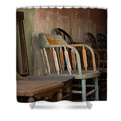 Shower Curtain featuring the photograph In Another Life - Another Time by Vicki Pelham