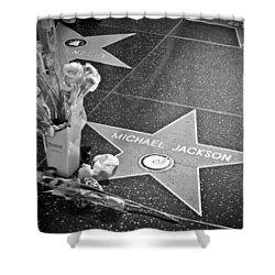 in memoriam Michael Jackson Shower Curtain by Ralf Kaiser