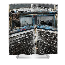 In Need Of Work Shower Curtain by Bob Christopher