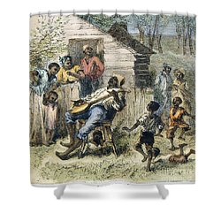 In Old Virginny, 1876 Shower Curtain by Granger