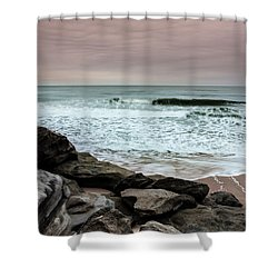 In Peace Shower Curtain by Edgar Laureano
