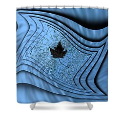 In The Eye Of The Storm 2 Shower Curtain by Tim Allen