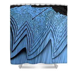 In The Eye Of The Storm 3 Shower Curtain by Tim Allen