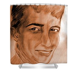 In The Limelight Shower Curtain by Maria Urso