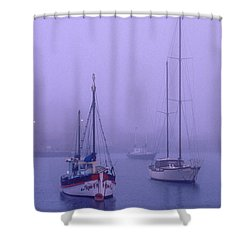 In The Mist Shower Curtain