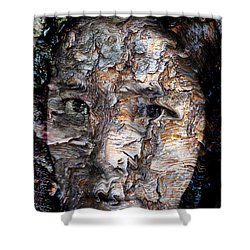 In Transition Shower Curtain by Christopher Gaston
