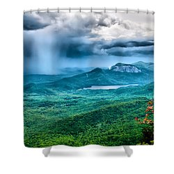 Shower Curtain featuring the photograph Incoming Storm by Lynne Jenkins
