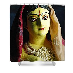 Shower Curtain featuring the photograph Indian Beauty by Fotosas Photography
