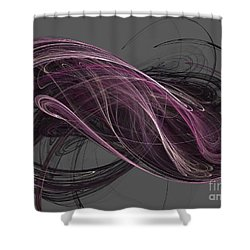 Shower Curtain featuring the digital art Infinity by Kim Sy Ok