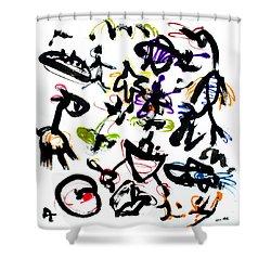 Inner Child Shower Curtain