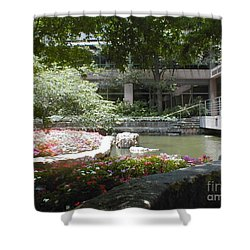 Inner Courtyard Shower Curtain