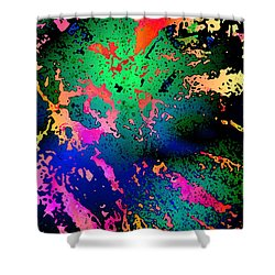 Shower Curtain featuring the photograph Inner Space by David Pantuso
