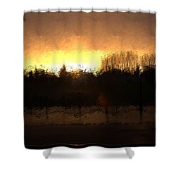 Insomnia II Shower Curtain by Terence Morrissey