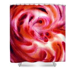 Inspiration Three C Shower Curtain by Irina Sztukowski