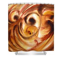 Inspiration Two  Shower Curtain by Irina Sztukowski