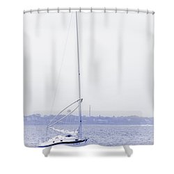Shower Curtain featuring the photograph Inspired Dreams by Janie Johnson
