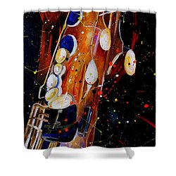 Instrument Of Choice Shower Curtain