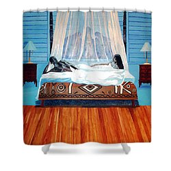 Intimate Reflections Shower Curtain