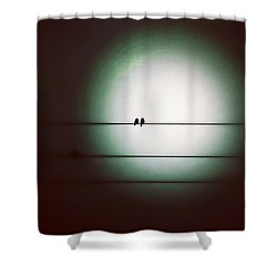 Into The Light - Instagram Photo Shower Curtain by Marianna Mills