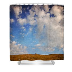 Shower Curtain featuring the photograph Into The Nowhere by Laura Melis