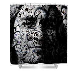 Intrigue Shower Curtain by Christopher Gaston