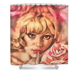 Invitation Shower Curtain by Mo T