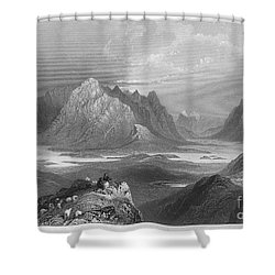 Ireland: Lough Inagh, C1840 Shower Curtain by Granger