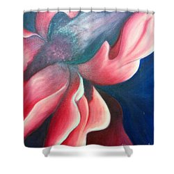 Iris O'keefe Shower Curtain