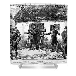 Irish Land League, 1887 Shower Curtain by Granger