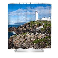 Irish Lighthouse Shower Curtain