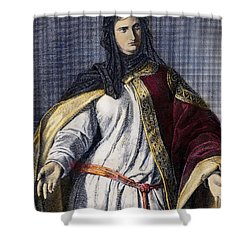 Isabella I (1451-1504) Shower Curtain by Granger