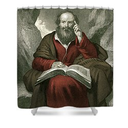 Isaiah, Old Testament Prophet Shower Curtain by Photo Researchers