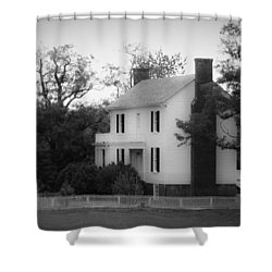 Isbell House Appomattox Virginia Shower Curtain by Teresa Mucha