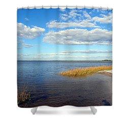 Island Skies Shower Curtain