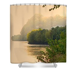 Islands In The Stream II Shower Curtain by William Fields