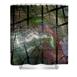It Was A Ghostly Dark And Stormy Night Shower Curtain