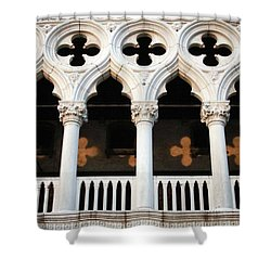 Italian Arches Shower Curtain by Linda Woods