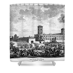 Italian Campaign, 1796 Shower Curtain by Granger