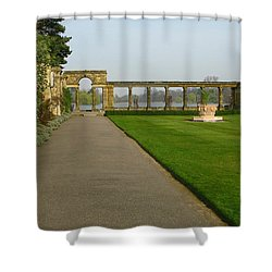 Italian Gardens Shower Curtain by Maria Joy