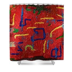 Shower Curtain featuring the digital art Italian Pillow by Alec Drake