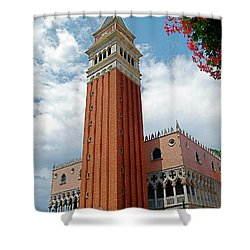 Italy In Orlando Shower Curtain