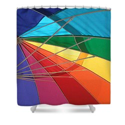 Shower Curtain featuring the photograph It's A Rainbow by David Pantuso