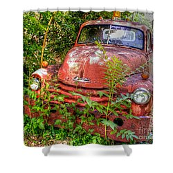 I've Towed My Last Tow.. Shower Curtain