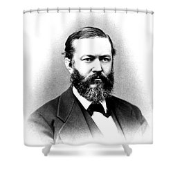 J. J. Woodward, American Pioneer Shower Curtain by Science Source