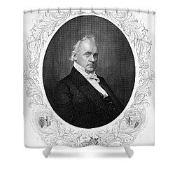 James Buchanan (1791-1968) Shower Curtain by Granger