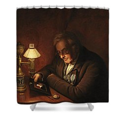 James Peale Shower Curtain by Charles Willson Peale