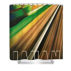 Japan Shower Curtain by Georgia Fowler